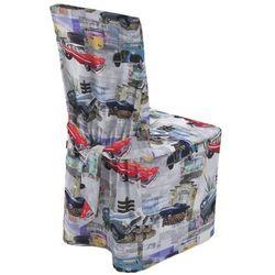 Dekoria Sukienka na krzesło, samochody retro, 45 × 94 cm, Freestyle do -30%