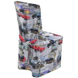Dekoria Sukienka na krzesło, samochody retro, 45x94 cm, Freestyle do -30%