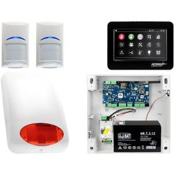 Alarm System Ropam NeoGSM-IP 2x Bosch TPR-4BS Sygnalizator Powiadomienie GSM