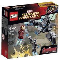 Klocki dla dzieci, Lego SUPER HEROES Iron man vs. ultron 76029