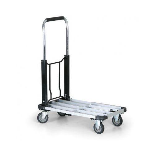 Wózki widłowe i paletowe, Składany wózek aluminiowy, 150 kg