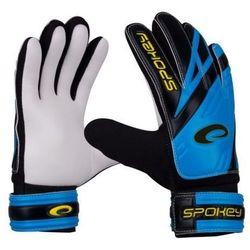 Rękawice bramkarskie SPOKEY Hold (rozmiar 7) Czarno-biało-niebieski