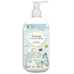 Emulsja do mycia ciała i włosów dla niemowląt i dzieci - 400ml - marki Nacomi