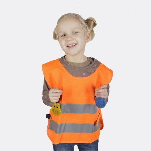 Pozostała odzież dziecięca, Kamizelka odblaskowa dla dzieci XS 90-110cm - xs \ różowy