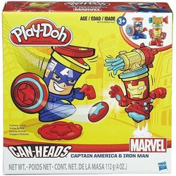 Ciastolina Play-Doh Kapian Ameryka i Iron Man Promocja (-17%)