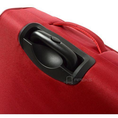 Torby i walizki, Travelite Capri mała walizka kabinowa 20/55 cm / czerwona - czerwony ZAPISZ SIĘ DO NASZEGO NEWSLETTERA, A OTRZYMASZ VOUCHER Z 15% ZNIŻKĄ