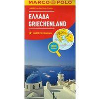 Mapy i atlasy turystyczne, Marco Polo Mapa Samochodowa Grecja 1:800 000 Zoom (opr. kartonowa)