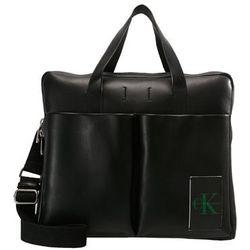Calvin Klein Jeans COATED PORTFOLIO Aktówka black