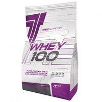 Odżywki białkowe, TREC WHEY 100 2270g 100% BIAŁKO WPC TRUSKAWKA