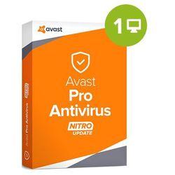 Avast Pro Antivirus 2018 – 1-rok / 1 PC, licencja elektroniczna 32/64 bit