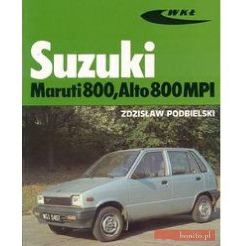 Książki o motoryzacji, Suzuki Maruti 800, Alto 800MPI (opr. broszurowa)