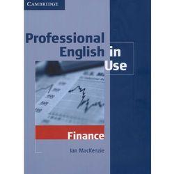 Professional English in Use Finance (opr. miękka)