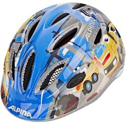 Alpina Gamma 2.0 Kask rowerowy Dzieci niebieski/kolorowy 46-51 cm 2018 Kaski dla dzieci Przy złożeniu zamówienia do godziny 16 ( od Pon. do Pt., wszystkie metody płatności z wyjątkiem przelewu bankowego), wysyłka odbędzie się tego samego dnia.
