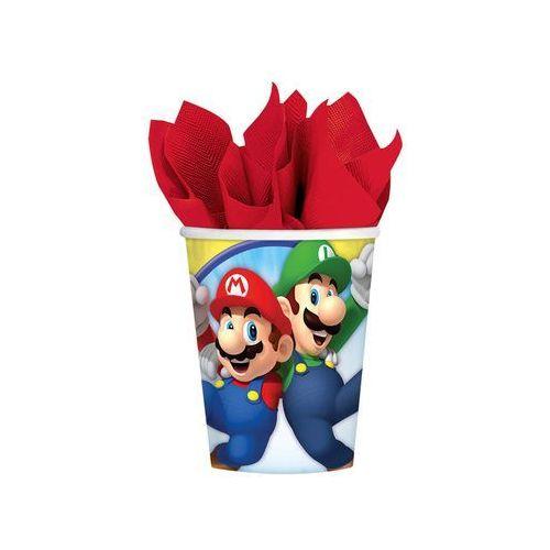 Pozostałe wyposażenie domu, Kubeczki urodzinowe Super Mario Bros - 266 ml - 8 szt.