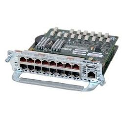 Cisco NME-X-23ES-1G-P One 23-port 10/100 Cisco EtherSwitch service module w/802.3af, 1 10/100/1000 port w/ 802.3af, and IP Base