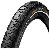 """Opony i dętki do roweru, Opona CONTINENTAL Contact Plus czarny / Rozmiar koła: 28"""" / Szerokość: 1,4"""