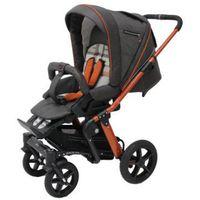 Wózki spacerowe, HARTAN Wózek dziecięcy Sky GTS (939) Grey/Mandarin