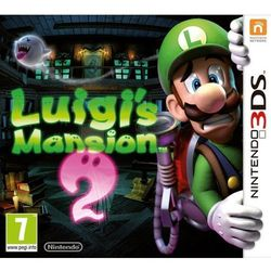 Luig's Mansions 2 Nintendo 3DS edycja Selects