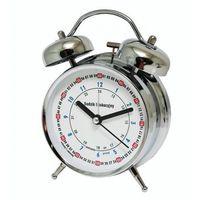 Zegary, Super cichy budzik metalowy z dzwonkami #do nauki