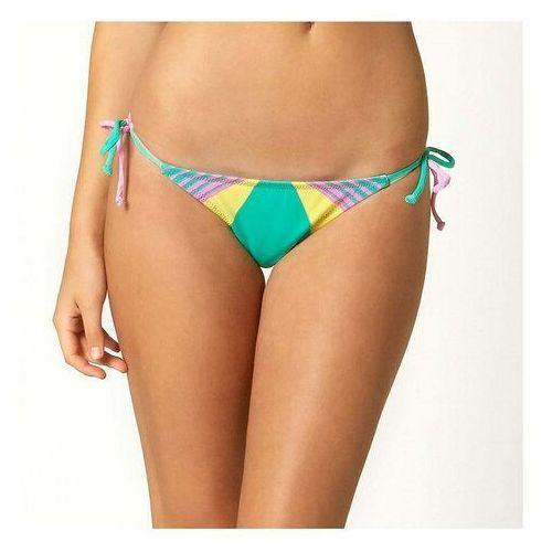 Stroje kąpielowe, bikini FOX - Savant Side Tie Teal (176)