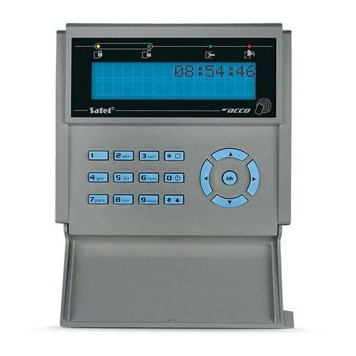 Centralki alarmowe, ACCO-KLCDR-BG Terminal kontroli dostępu - manipulator LCD Satel