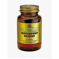 Witaminy i minerały, SOLGAR Izoflawony sojowe skoncentrowane, 30 tabletek