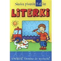 Książki dla dzieci, Literki Nauka pisania 5-6 lat (opr. broszurowa)