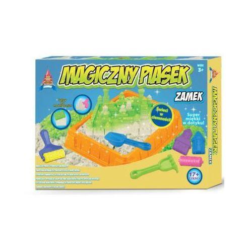 Pozostałe zabawki edukacyjne, Russell Magiczny Piasek swiecacy Zamek 2