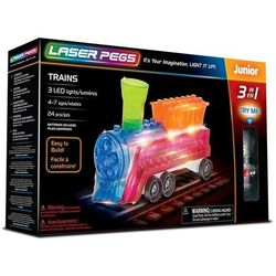3 in 1 Trains - Laser Pegs