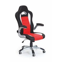 Fotel gabinetowy lub dla gracza HALMAR LOTUS czerwony