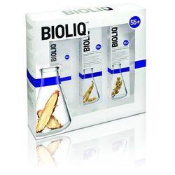 BIOLIQ Zestaw 55+ Krem liftingująco-odżywczy na dzień 50ml + krem na noc 50ml + krem intensywnie liftingujący 30ml