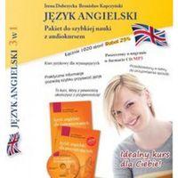 Książki do nauki języka, Język Angielski 3w1 Pakiet 2 Do Szybkiej Nauki Z Audiokursem (opr. miękka)