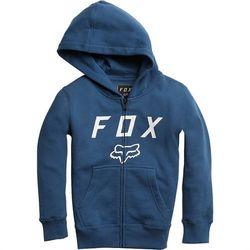 bluza FOX - Youth Legacy Moth Zip Fleece Dst Blu (157) rozmiar: YXL