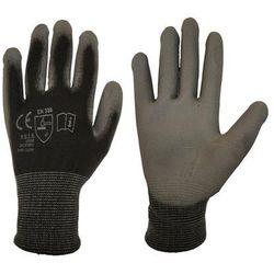 Rękawice ochronne r. XL / 9 poliestrowe z powłoką poliuretanową