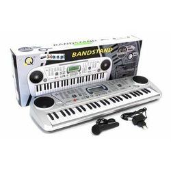 Duże Elektroniczne Organy / Keyboard + Mikrofon + Ekran LCD + Zasilacz 230V...