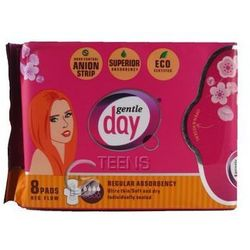 Podpaski higieniczne na dzień z paskiem anionowym teens 8 szt. - GENTLE DAY