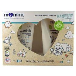 Zestaw: Żel 2w1 (150 ml) + Ziołowe Masełko Pielęgnacyjne (150 ml) - MomMe