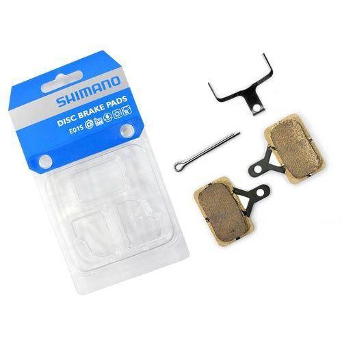 Klocki hamulcowe, Okładziny/klocki hamulcowe Shimano E01S metaliczne