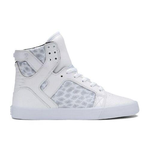 Damskie obuwie sportowe, buty SUPRA - Women-Skytop White (WHT) rozmiar: 36