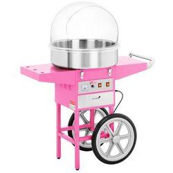 Maszyna do waty cukrowej - 52 cm - wózek - pokrywa