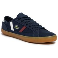 Męskie obuwie sportowe, Tenisówki LACOSTE - Sideline 319 1 Cma 7-38CMA0055NWR Nvy/Wht/Dk Red