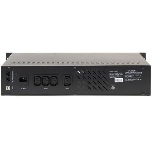 UPSy, ZASILACZ UPS AT-UPS650R-RACK 650 VA EAST