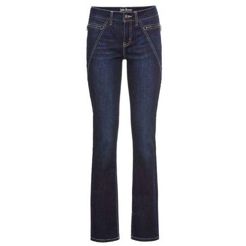 Spodnie damskie, Dżinsy multi-stretch SLIM bonprix ciemnoniebieski