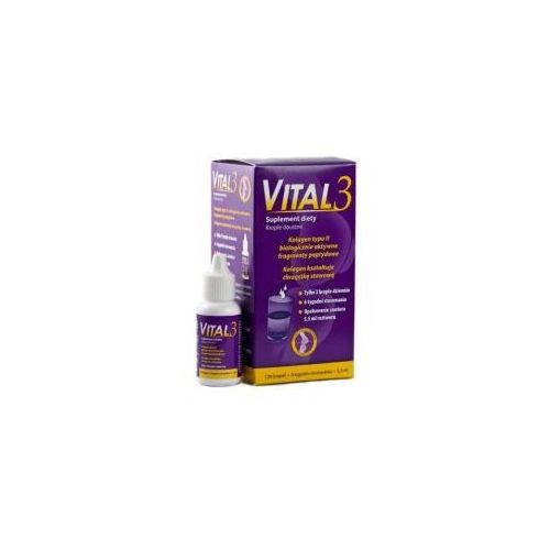 Pozostałe leki na układ kostny, VITAL 3 KROPLE 5,5 ML