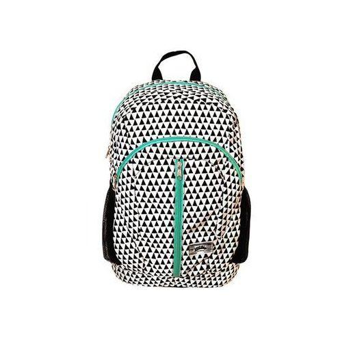 Tornistry i plecaki szkolne, Plecak 18x43xh46 35L trójkąty czarne. Darmowy odbiór w niemal 100 księgarniach!
