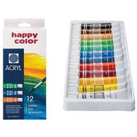 Farbki, Farba akrylowa zestaw 12 kolorów
