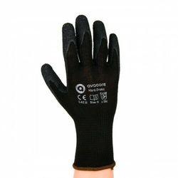 Rękawice ochronne HARD-DRAKO AVACORE powlekane guma czarne kategoria II