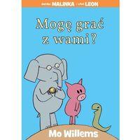 Książki dla dzieci, Mogę grać z wami świnka malinka i słoń leon (opr. twarda)