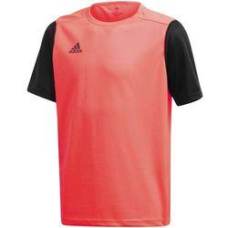 Koszulka dla dzieci adidas Estro 19 Jersey JUNIOR czerwono-czarna FR7118/FT6680