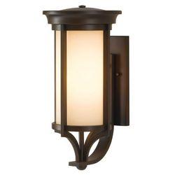 Zewnętrzna LAMPA wisząca FE/MERRILL8/S Elstead FEISS metalowa OPRAWA ogrodowy ZWIS IP23 outdoor ciemny brąz kremowa